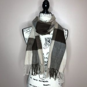 Charming Charlie softer than cashmere plaid scarf
